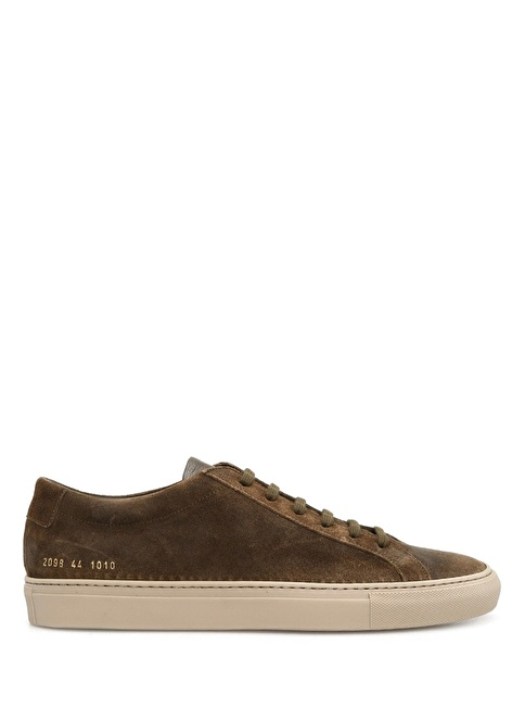 Common Projects Spor Ayakkabı Haki